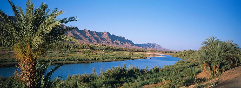 Maroc, Valley du Draa, paysage vers Zagora // Morocco, Draa Valley, landscape near Zagora