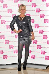 Heidi Range attends the launch party for Breast Cancer Campaign at Tower 42, London, England, October 1, 2012. Photo by Chris Joseph / i-Images.