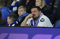 Football - 2018 / 2019 Premier League - Brighton and Hove Albion vs. Cardiff City<br /> <br /> Nail biting time for Brighton fans as there side are a goal down at half time at The Amex Stadium Brighton <br /> <br /> COLORSPORT/SHAUN BOGGUST