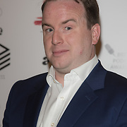 Matt Forde attend the Annual award ceremony celebrating the best British podcasts. Supported by Sony Music's on 19 May 2018 at King's Place, London, UK.
