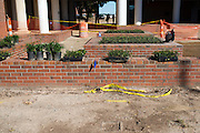 New landscaping has begun outside of the Favrot Student Union at Grambling State University in Grambling, Louisiana on October 23, 2013.  (Cooper Neill for The New York Times)