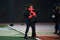 Thierry FROGER / Francis DE PERCIN - 23.01.2015 - Creteil / Laval - 21eme journee de Ligue 2<br /> Photo : Dave Winter / Icon Sport