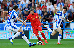 Alberto Moreno of Liverpool dribbles - Mandatory by-line: Matt McNulty/JMP - 20/07/2016 - FOOTBALL - John Smith's Stadium - Huddersfield, England - Huddersfield Town v Liverpool - Pre-season friendly
