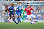 Barnsley midfielder Josh Scowen during the EFL Sky Bet Championship match between Ipswich Town and Barnsley at Portman Road, Ipswich, England on 6 August 2016. Photo by Nigel Cole.