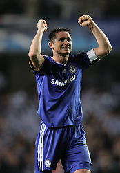 FRANK LAMPARD AFTER GAME.CHELSEA V LIVERPOOL, CL QF 2ND LEG.CHELSEA V LIVERPOOL, CL QF 2ND LEG.STAMFORD BRIDGE, LONDON, ENGLAND.14 April 2009.DIX94955..  .WARNING! This Photograph May Only Be Used For Newspaper And/Or Magazine Editorial Purposes..May Not Be Used For, Internet/Online Usage Nor For Publications Involving 1 player, 1 Club Or 1 Competition,.Without Written Authorisation From Football DataCo Ltd..For Any Queries, Please Contact Football DataCo Ltd on +44 (0) 207 864 9121