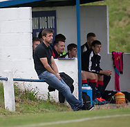 Dundee manager Neil McCann watches the under 20s against Lochee United - Lochee United v Dundee 20s, pre-season friendly, at Thomson Park<br /> <br />  - &copy; David Young - www.davidyoungphoto.co.uk - email: davidyoungphoto@gmail.com