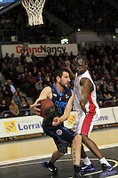 Maxime COURBY / Florent PIETRUS  - 07.03.2015 - Nancy / Rouen - 23eme journee de ProA<br />