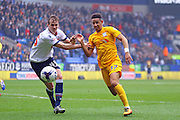 \b45\ and Preston North End Striker Callum Robinson during the Sky Bet Championship match between Bolton Wanderers and Preston North End at the Macron Stadium, Bolton, England on 12 March 2016. Photo by Pete Burns.