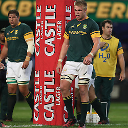DURBAN, SOUTH AFRICA, 8 October, 2016 - Pieter-Steph du Toit of South Africa during the Rugby Championship match between South Africa and New Zealand at Kings Park in Durban, South Africa. (Photo by Steve Haag)