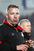 Doncaster Rovers Manager Darren Ferguson  during the EFL Sky Bet League 1 match between Doncaster Rovers and Blackburn Rovers at the Keepmoat Stadium, Doncaster, England on 24 April 2018. Picture by Mick Atkins.