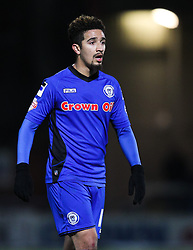 Rochdale's Bastien Hery - Photo mandatory by-line: Matt McNulty/JMP - Mobile: 07966 386802 - 24/02/2015 - SPORT - Football - Rochdale - Spotland Stadium - Rochdale v Sheffield United - Sky Bet League One