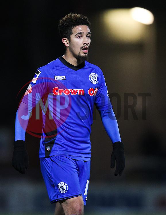 Rochdale's Bastien Hery - Photo mandatory by-line: Matt McNulty/JMP - Mobile: 07966 386802 - 24/02/2015 - SPORT - Football - Rochdale - Spotland Stadium - Rochdale v Sheffield United - Sky Bet League One