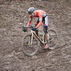 29-01-2017: Wielrennen: Wereldkampioenschap veldrijden: Luxemburg<br />BIELES (LUX) cyclocross  <br />Corne van Kessel