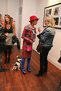 , LADY HENRIETTA ROUSHanging Out. Carinthia West exhibition. The library space, 108  battersea park rd. London. sw11