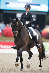 Svanberg Anna, (SWE), Revolution 25<br /> First Qualifier 6 years old horses<br /> World Championship Young Dressage Horses - Verden 2015<br /> © Hippo Foto - Dirk Caremans<br /> 07/08/15