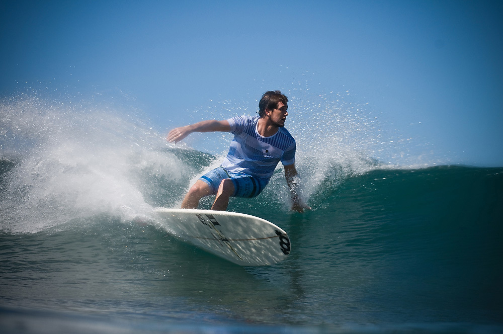 November 1st 2010: Harley Ingleby surfing at Laniakea of the North Shore of Oahu-Hawaii. Photo by Matt Roberts/mattrIMAGES.com.au