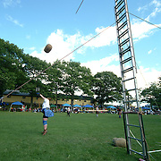 August 18, 2007 -- BRUNSWICK, Maine.  Maine Highland Games at Thomas Point Beach in Brunswick, Photo by Roger S. Duncan.