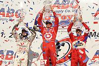 Scott Dixon, Dario Franchitti, Ryan Briscoe, Indy Car Series