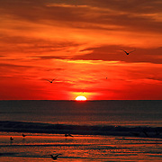 Sunrise in Wildwood Crest, New Jersey, USA