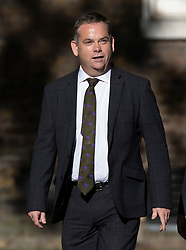 © Licensed to London News Pictures. 22/07/2019. London, UK. Nigel Adams MP arrives for Prime Minister Theresa May's farewell drinks reception at Downing Street.  Voting in the Conservative party leadership election ends today with the results to be announced tomorrow. Photo credit: Peter Macdiarmid/LNP