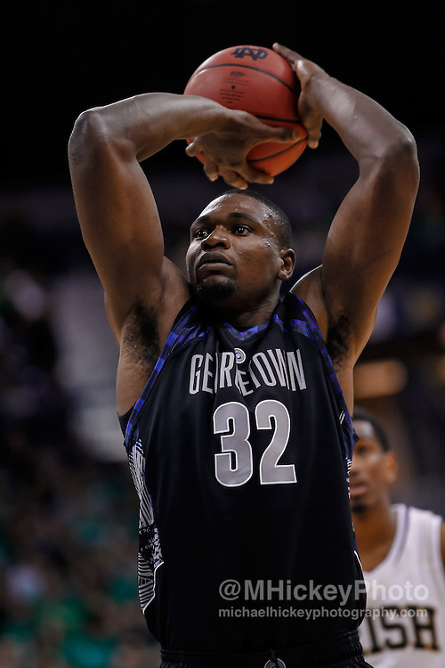 SOUTH BEND, IN - JANUARY 21:  at Purcel Pavilion on January 21, 2013 in South Bend, Indiana. Georgetown defeated Notre Dame 63-47. (Photo by Michael Hickey/Getty Images) *** Local Caption *** Name; Name