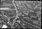 Aerial View of Ballsbridge, Dublin.12/11/1963