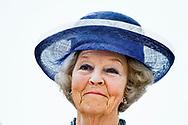 8-5-2018 THE HAGUE - Princess Beatrix of the Netherlands opens the jubilee exhibition 'Beeldreflecties, De Nederlandse Kring van Beeldhouwers 100 years later' in Pulchri Studio in The Hague on Tuesday afternoon. COPYRIGHT ROBIN UTRECHT
