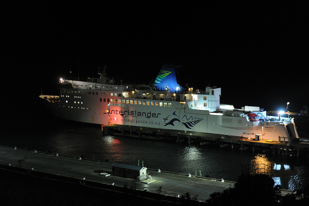 Interislander ferry Arahura, Terminal, Picton, New Zealand, Monday, March 11, 2013. Credit:SNPA / Ross Setford