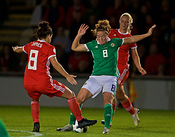 NEWPORT, WALES - Tuesday, September 3, 2019: Northern Ireland's substitute Marissa Callaghan during the UEFA Women Euro 2021 Qualifying Group C match between Wales and Northern Ireland at Rodney Parade. (Pic by David Rawcliffe/Propaganda)