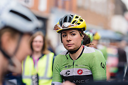 Sheyla Gutierrez (Cylance Pro Cycling) at Aviva Women's Tour 2016 - Stage 2. A 140.8 km road race from Atherstone to Stratford upon Avon, UK on June 16th 2016.