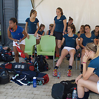 WATERLOO - EuroHockey Junior Championships Men &amp; Women<br /> <br /> Foto: French team.<br /> COPYRIGHT FFU PRESS AGENCY FRANK UIJLENBROEK