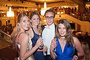 VICTORIA DASHWOOD;  DAVINA COLLAS;; ALEX COLERIDGE; TARKA RUSSELL The Royal Caledonian Ball 2013. The Great Room, Grosvenor House. Park lane. London. 3 May 2013.