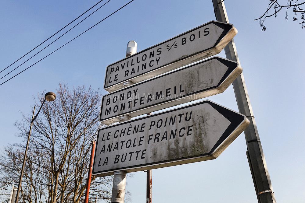 Quartier du Chêne Pointu - Clichy-Sous-Bois, mars 2012