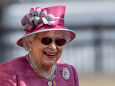 The Queen At Royal Windsor Horse Show - 13 May 2018