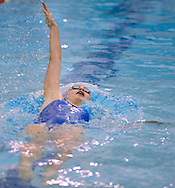 WARMINSTER, PA - DECEMBER 16: Central Bucks South's Natalie Keck competes in the 200 Individual Medley during a swim meet at William Tennent December 16, 2014 in Warminster, Pennsylvania. Central Bucks South faced William Tennent in the boy and girl swim meet. (Photo by William Thomas Cain/Cain Images)