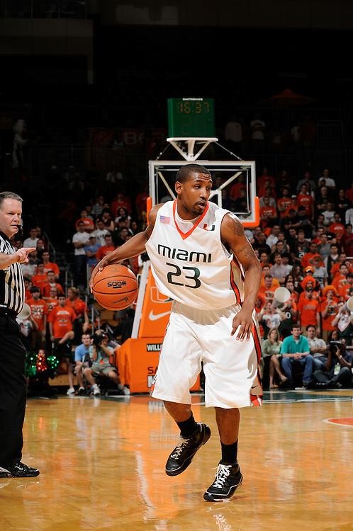 2008 University of Miami Men's Basketball vs Clemson