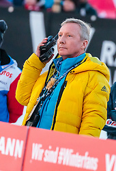 18.03.2018, Vikersundbakken, Vikersund, NOR, FIS Weltcup Ski Sprung, Raw Air, Vikersund, Finale, im Bild FIS Renndirektor Walter Hofer // FIS Race Director Walter Hofer during the 4th Stage of the Raw Air Series of FIS Ski Jumping World Cup at the Vikersundbakken in Vikersund, Norway on 2018/03/18. EXPA Pictures © 2018, PhotoCredit: EXPA/ JFK