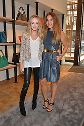 Left to right, CLAIRE KHALASTCHI and LILY HODGES at a lunch hosted by Alice Naylor-Leyland and Tamara Beckwith in celebration of the Coach 2015 collection held at Coach, New Bond Street, London on 18th September 2014.