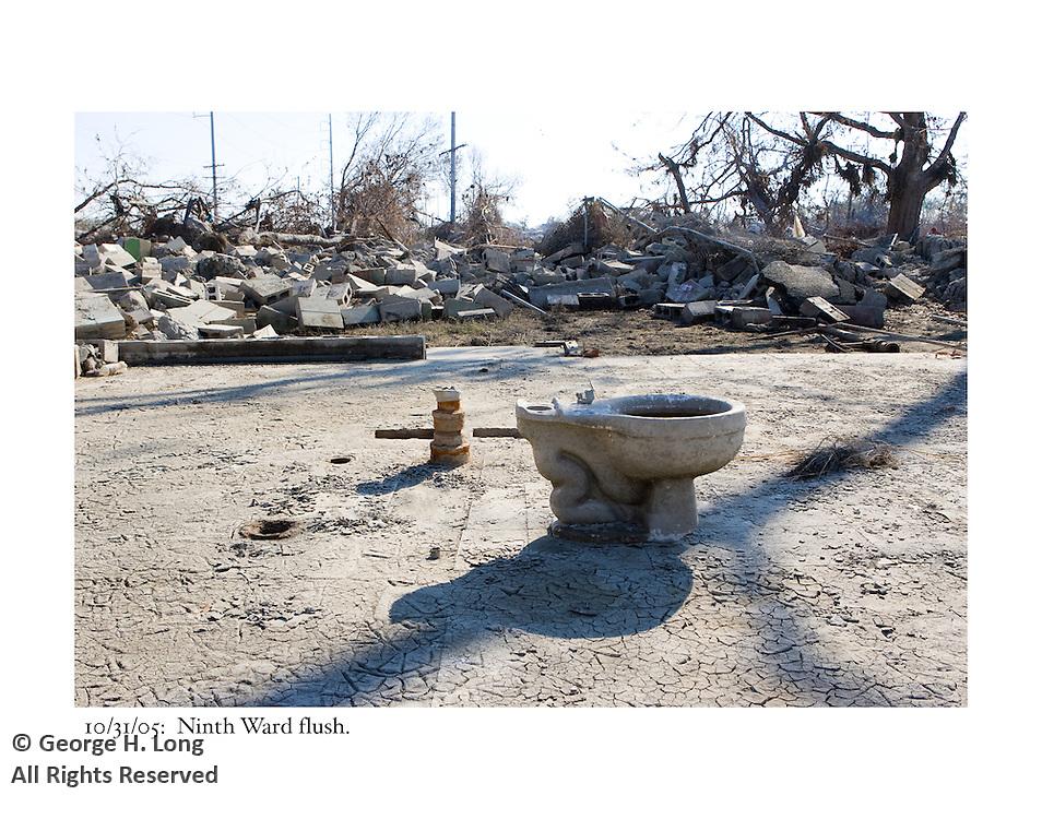 10/31/05:  Ninth Ward flush.