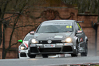 #64 Christie DORAN VW Golf Mk5 during Maximumgroup.net VAG Trophy Qualifying as part of the Easter Family Fun Day - Oulton Park Fosters at Oulton Park, Little Budworth, Cheshire, United Kingdom. March 28 2016. World Copyright Peter Taylor/PSP. Copy of publication required for printed pictures.  Every used picture is fee-liable. http://archive.petertaylor-photographic.co.uk