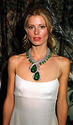 Model MISS LAURA BAILEY former close friend of actor Richard Geer, at a dinner in London on 21st October 1999.MYA 32