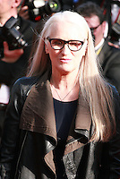 Director Jane Campion at the Palme d'Or  Closing Awards Ceremony red carpet at the 67th Cannes Film Festival France. Saturday 24th May 2014 in Cannes Film Festival, France.