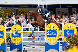 Heiligers Rob, NED, Icelos Eickenrode<br /> FEI WBFSH Jumping World Breeding Championship for young horses Zangersheide Lanaken 2019<br /> © Hippo Foto - Dirk Caremans
