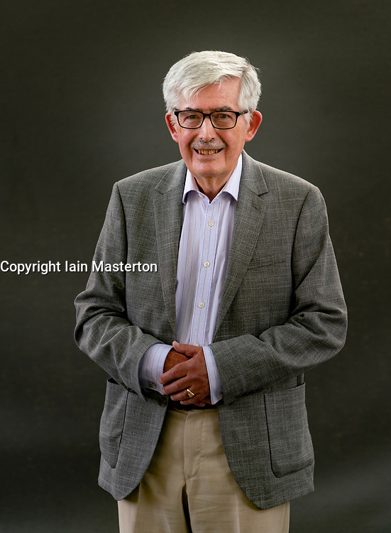 Edinburgh, Scotland, UK. 21 August 2019. Finlay McKichan at Edinburgh International Book Festival 2019. Historian Finlay McKichan's study, Lord Seaforth, reassesses the story of Francis Humberston MacKenzie, former Governor of Barbados and slave plantation owner who fought for slaves rights. Iain Masterton/Alamy Live News.