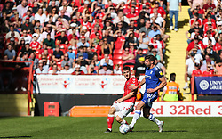 Tom Lockyer of Charlton Athletic passes the ball - Mandatory by-line: Arron Gent/JMP - 14/09/2019 - FOOTBALL - The Valley - Charlton, London, England - Charlton Athletic v Birmingham City - Sky Bet Championship