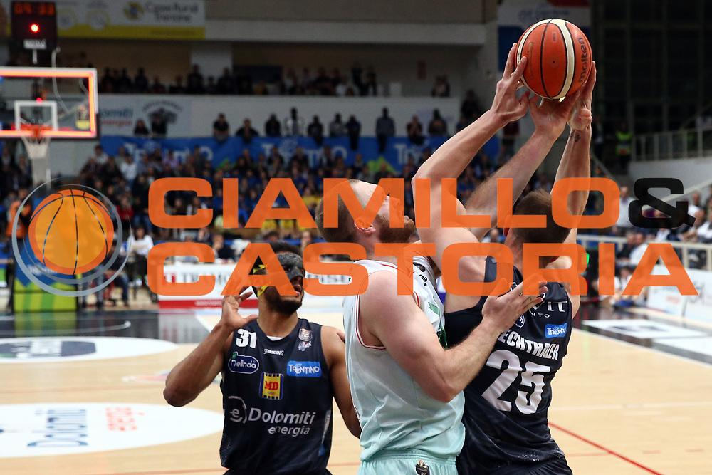 Lechthaler Luca<br /> Dolomiti Energia Trentino vs Sidigas Avellino<br /> Lega Basket Serie A 2016/2017<br /> Trento, 07/05/2017<br /> Foto Ciamillo-Castoria/A. Gilardi