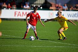 NEWPORT, WALES - Wednesday, July 25, 2018: Ruben Davies during the Welsh Football Trust Cymru Cup 2018 at Dragon Park. (Pic by Paul Greenwood/Propaganda)