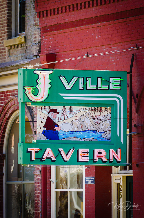 The J-Ville Tavern, Jacksonville, Oregon USA