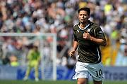 Udine, 08/05/2011.Campionato di calcio Serie A 2010/2011. 36^ giornata..Udinese vs Lazio. Stadio Friuli..Nella Foto: Mauro Matias Zarate..Foto di Simone Ferraro