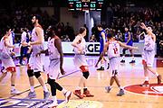 Grissin Bon Reggio Emilia - Germani Basket Brescia<br /> Lega Basket  Serie A  2017/2018<br /> Bologna, 04/04/2018<br /> Foto A.Giberti / Ciamillo - Castoria